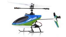 Hero RC 4CH Mini RC Helicopter H995 hot selling 2.4GHz Single-Propeller with Gyro  (Green)