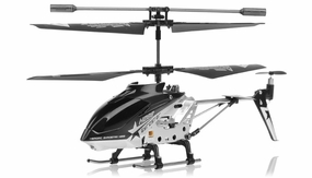 Hero RC  H288 3 Channel Mini Indoor Co-Axial Helicopter w/ bonus blades, balance bar,connect buckle,tail blade & tail decoration (Black)