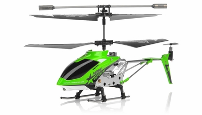 Hero RC  H288 3 Channel Mini Indoor Co-Axial Helicopter w/ bonus blades, balance bar,connect buckle,tail blade & tail decoration(Green)