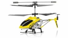 Hero RC  H288 3 Channel Mini Indoor Co-Axial Helicopter w/ bonus blades, balance bar,connect buckle,tail blade & tail decoration (Yellow)