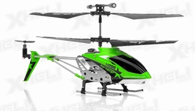 Hero RC H288 Replacement Parts Green (NO ELECTRONIC INCLUDED) 56P-Part-H288-WholeHeli-Green