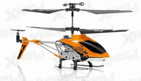 Hero RC H288 Replacement Parts Orange (NO ELECTRONIC INCLUDED) 56P-Part-H288-WholeHeli-Orange