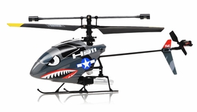 Hero RC H911 iRocket 4-Channel Fixed Pitch Ready-to-Fly Helicopter w/ bonus Battery, Balance Bar, Main Blade, Connect Buckle, Tail Blade, USB Charger RC Remote Control Radio