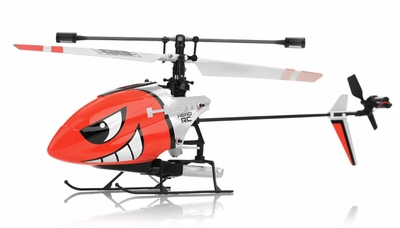 Hero RC H911 iRocket 4 Channel Fixed Pitch Ready to Fly Helicopter w/ bonus Battery, Balance Bar, Main Blade, Connect Buckle, Tail Blade, USB Charger (Red) RC Remote Control Radio