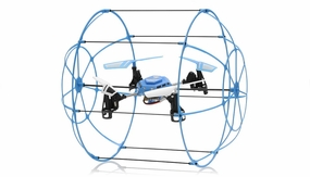 Hero RC Sky Matrix H1306 4 CH RC Quad Copter 2.4ghz Ready to Fly (Blue) Extra bonus battery RC Remote Control Radio