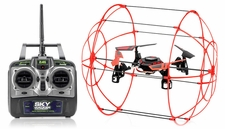 Hero RC Sky Matrix H1306 4 CH RC Quad Copter 2.4ghz Ready to Fly (Red)  Extra bonus battery