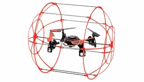 Hero RC Sky Matrix H1306 4 CH RC Quad Copter 2.4ghz Ready to Fly (Red)  Extra bonus battery RC Remote Control Radio