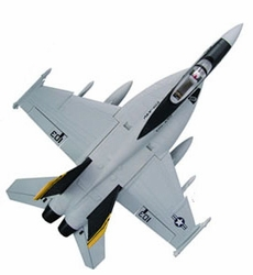 High Performance MaxJet 4-CH F-18E Jolly Roger RC Fighter Jet w/ 64MM EDF Fan (Kit Version)