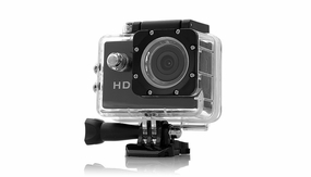 HobbyPartz 720P HD Sport Action Camera w/ Waterproof Case