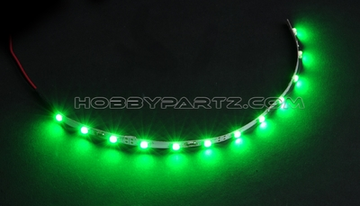 HobbyPartz Green LED-12 Lights 79P-10198