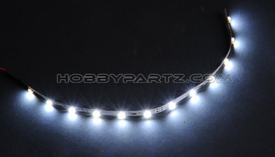 HobbyPartz White LED-12 Lights