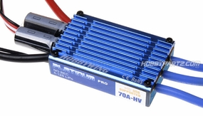 HobbyWing C-Platinum-70A-HV-OPTO-V1 Brushless ESC for 600 RC Heli and Giant Scale Airplane