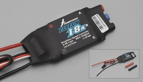 HobbyWing FLYFUN 18A ESC designed for advanced users