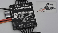 HobbyWing SKYWALKER QUATTRO 20Ax4 ESC Specially designed for Quatropter