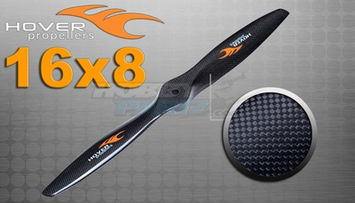 "Hover brand Carbon Fiber Propellers 16""X 8"