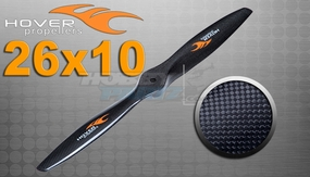 "Hover brand Carbon Fiber Propellers 26""X 10"