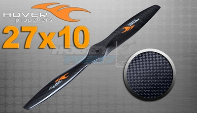 "Hover brand Carbon Fiber Propellers 27""X 10"
