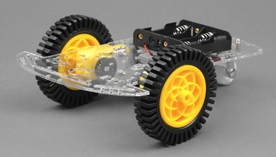 Intelligent Robot Car Chassis Kits with Speed Encoder Battery Box