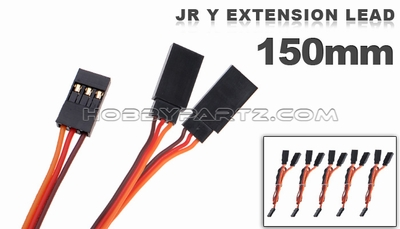 JR Y extension lead 150mm 79P-10095