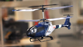 JXD 342 Mini 3.5  Channel RC helicopter RTF w/ Build in Gyroscope-Blue RC Remote Control Radio