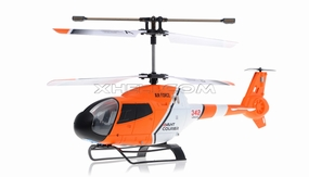 JXD 342 Mini 3.5  Channel RC helicopter RTF w/ Build in Gyroscope-Orange RC Remote Control Radio