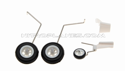 Landing Gear Set for AirField RC P47 750mm 93A847-12-LandingGearSet