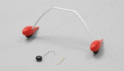 Landing gears(red) 60P-SU-06-red