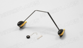 Landing gears(yellow) 60P-Pitts-08-yellow