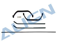 Landing Skid Set/Black HS1118