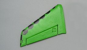 Left Tail Wing (Green) 69A501-03-TailWingLeft-Green