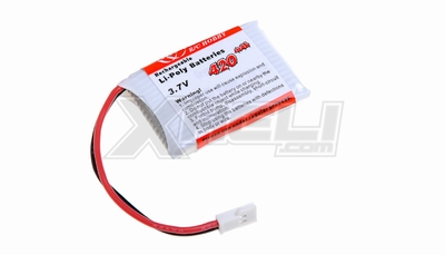 Lipo battery3.7V 420mAh AT-3F02C
