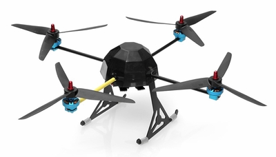 Lotus RC T80 Quad-Copter 4 Channel Almost Ready to Fly