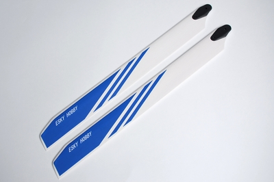 main blade :315*32*4.5  mm (wooden,Blue color )