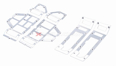 Main Frame Decorated Aluminum Plates