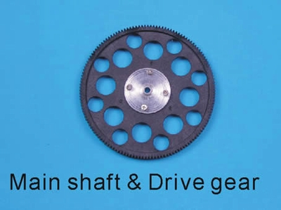 Main shaft drive gear set