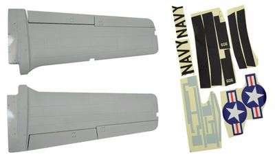 Main wing set 93A328-02-Grey