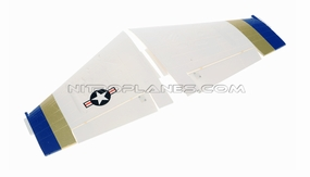 Main wing set (White) 93A18-02-White-MainWingSet