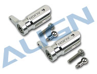 Metal Main Rotor Holder Set/Silver H25003AF