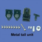 Metal tail unit