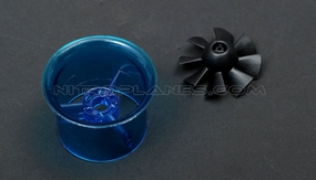 Micro 30mm EDF,including the unique 8-blade fan rotor� and ducted housing�