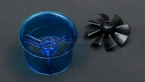 Micro 35mm EDF,including the unique 8-blade fan rotor� and ducted housing�