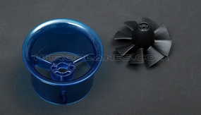 Micro 50mm EDF,including the unique 8-blade fan rotor� and ducted housing�
