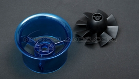Micro 55mm EDF,including the unique 8-blade fan rotor� and ducted housing�