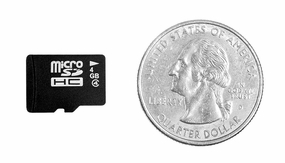 Micro Secure Digital 4 GB Memory Card