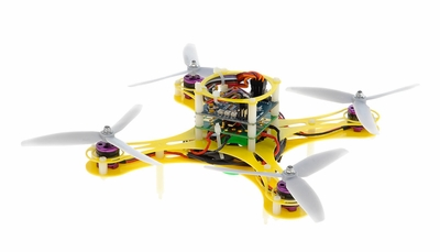 Mini Fly QuadCopter ARF w/ KK Board (Yellow) RC Remote Control Radio