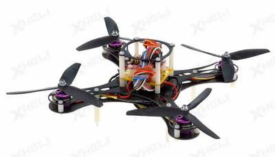 Mini Fly QuadCopter ARF w/ MWC Board Brushless Motor, 12A ESC (Black)