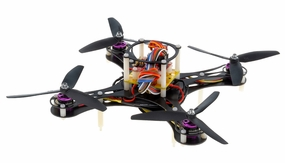 Mini Fly QuadCopter ARF w/ MWC Board Brushless Motor, 12A ESC (Black) RC Remote Control Radio