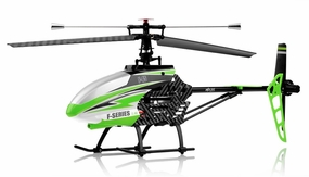 MJX F645 2.4ghz 4 Channel Fixed Pitch Ready to Fly Helicopter (Green) RC Remote Control Radio