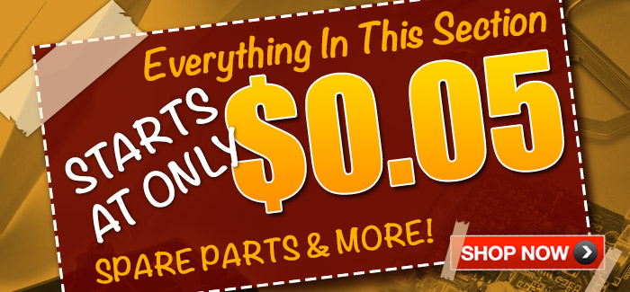 Need to Fix or Upgrade Your RC Helicopters or RC Airplanes? Score Awesome Bargains on Spare Parts Starting at Only $0.05!