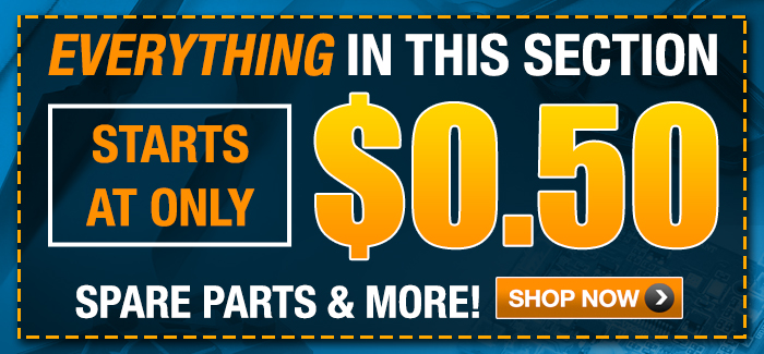 Need to Fix or Upgrade Your Helicopter? Score Awesome Bargains on Spare Parts Starting at Only $.50!